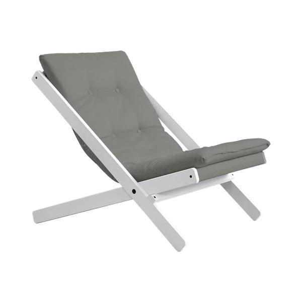 Fotel składany Karup Design Boogie White/Gris
