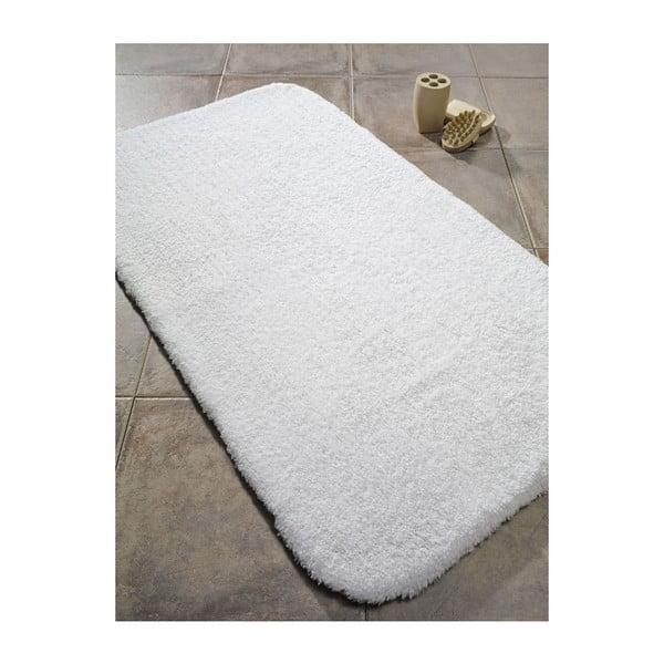 Biały dywanik łazienkowy Confetti Bathmats Organic 1500, 60x90 cm