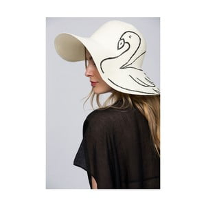 Dámský klobouk s motivem pelikána NW