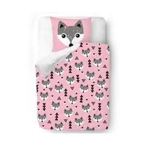 Povlečení Pink Foxes, 140x200 cm
