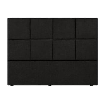 Tăblie pat Mazzini Sofas Barletta, 200 x 120 cm, negru imagine