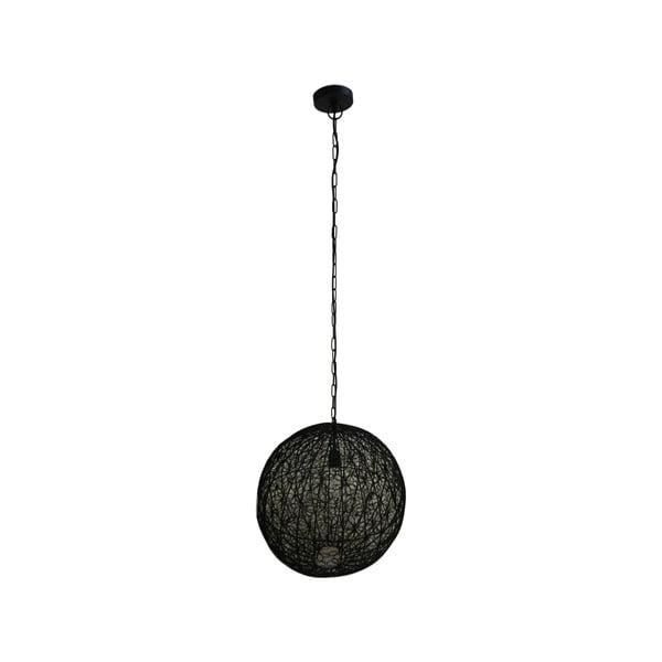 Czarna lampa wisząca HSM collection Pendant Flower, ⌀ 54 cm