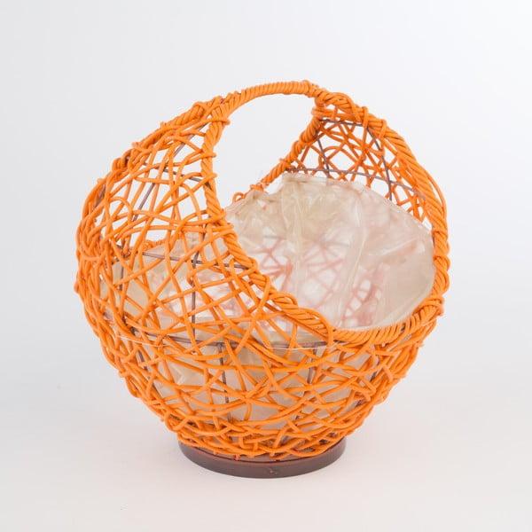 Ratanový květináč Baskie Orange