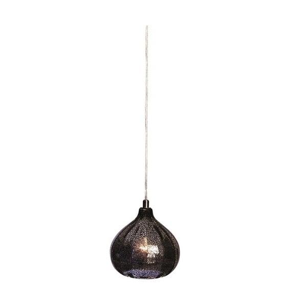 Stropní lampa Bombay, šedá