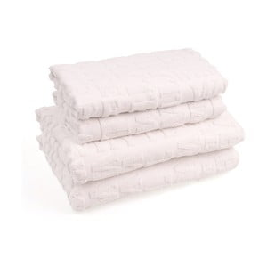 Set 2 bavlněných ručníků a 2 osušek Casa Di Bassi Wtypo