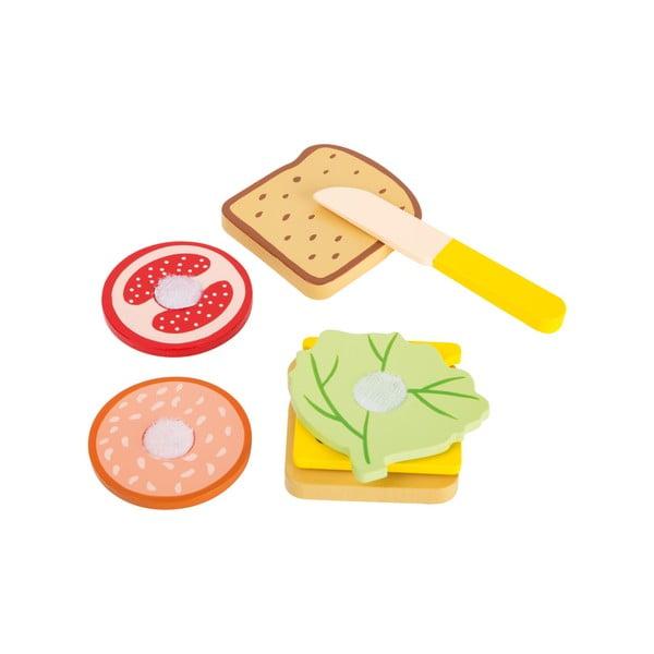 Dziecięcy zestaw do robienia kanapek Legler Snacktime