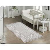 Béžový odolný koberec Vitaus Olivia, 60x90cm