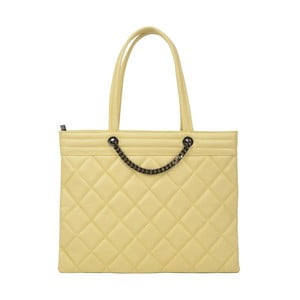 Žlutá kožená kabelka Roberta M Margot