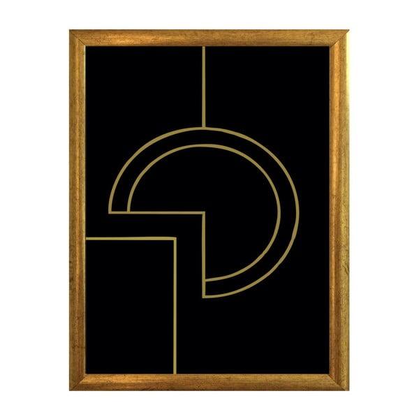Plakat w ramce Piacenza Art Geometry, 30x20cm