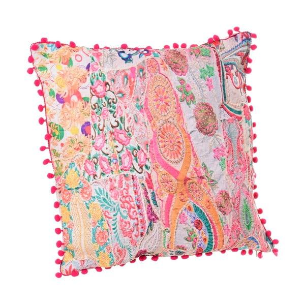 Kolorowa poduszka InArt Little Pompon, 45x45 cm