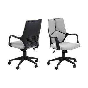 Světle šedá kancelářská židle Actona Dubnium Shorty