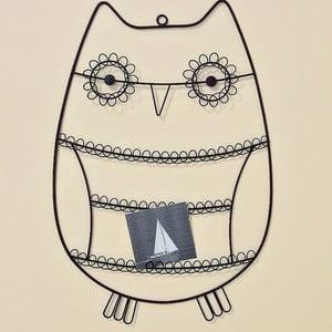 Nástěnný držák na fotky Owl
