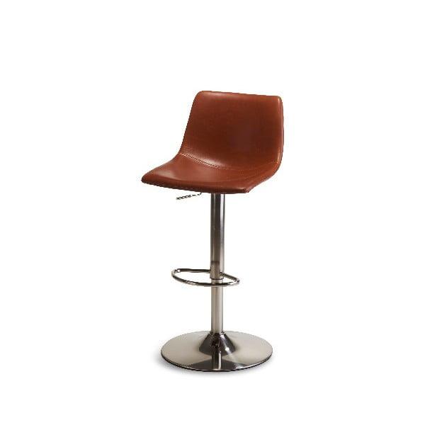 Světle hnědá polohovací barová stolička Furnhouse Lukas