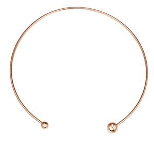 Dámský náhrdelník v barvě růžového zlata Tassioni Flora