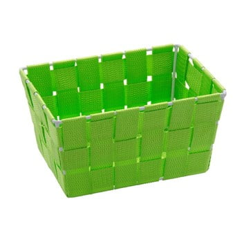Coș pentru depozitare Wenko Adria, 14 x 19 cm, verde imagine