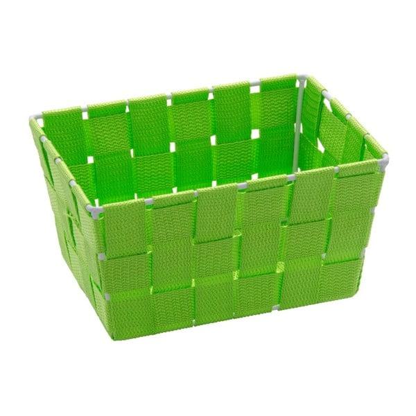 Zelený úložný košík Wenko Adria, 14 x 19 cm