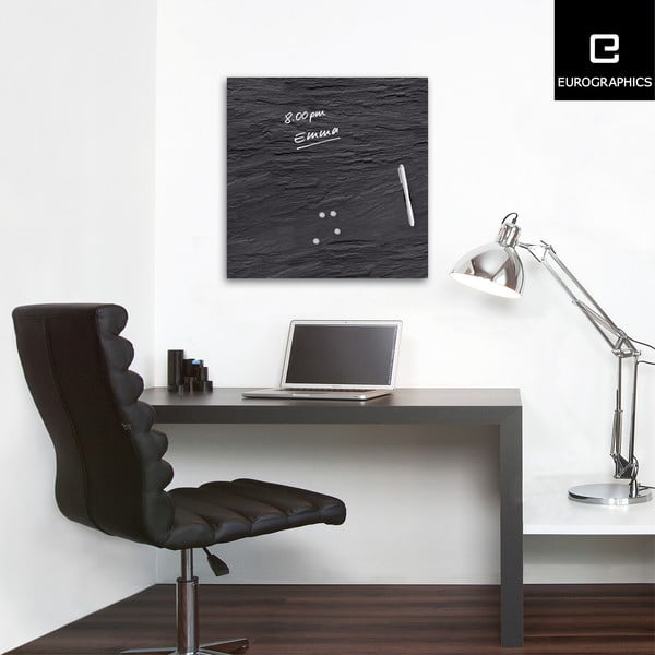 Magnetická tabule Eurographics Black Slate, 50x50cm