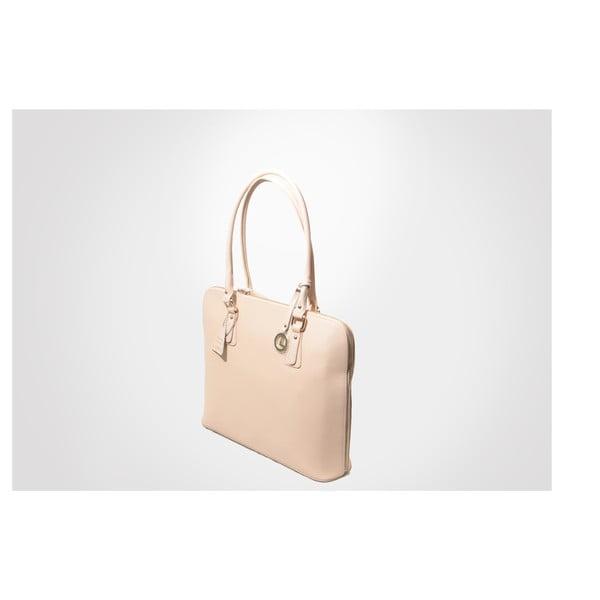 Kožená kabelka Madlene, pink