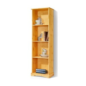 Bibliotecă din lemn masiv de pin Støraa Yvonne, înălțime 180 cm