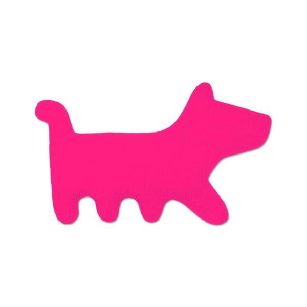 Nahřívací polštářek Pes Bruno, růžový