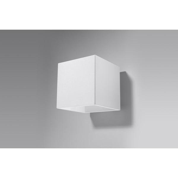 Bílé nástěnné svítidlo Nice Lamps Geo