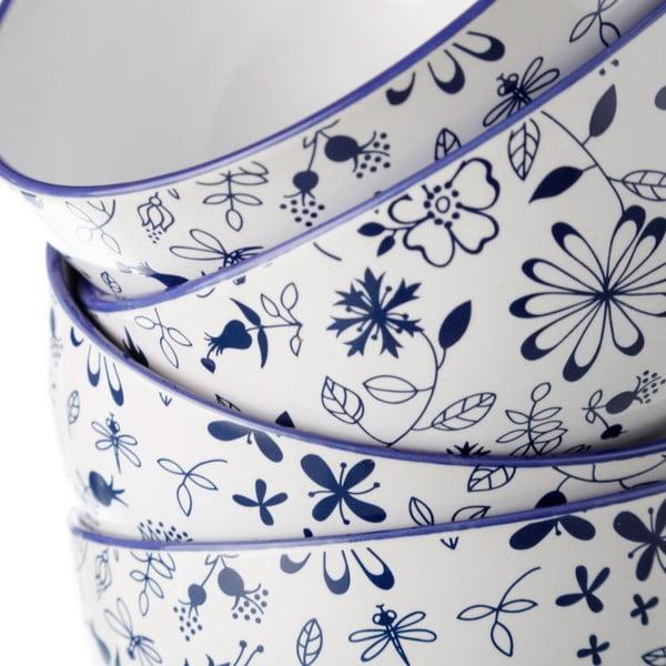 Bol Unimasa Bug, , Ø 13,5 cm, albastru-alb