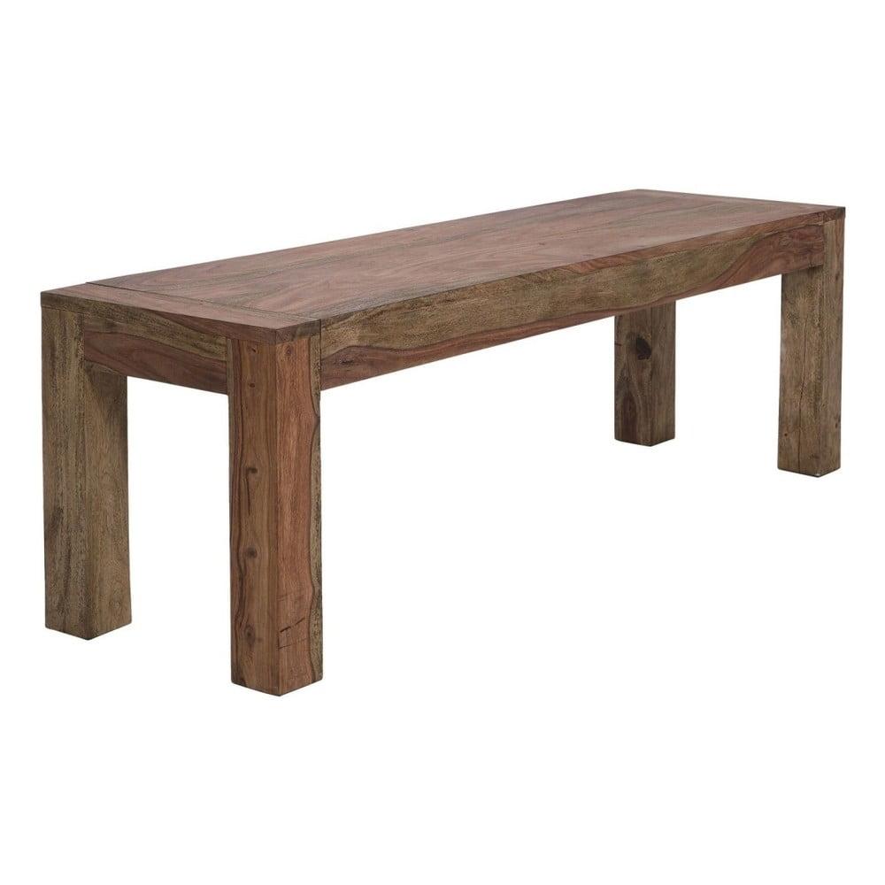 Dřevěný jídelní stůl Kare Design Desert Bank, 140x70cm