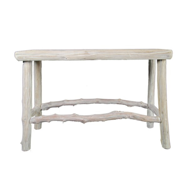 Dřevěný stolek Morrice, 68x24 cm