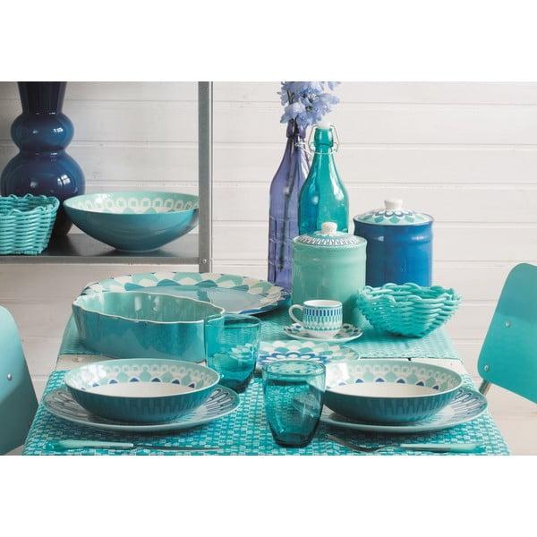 Sada talířů Blueapp, 18 ks