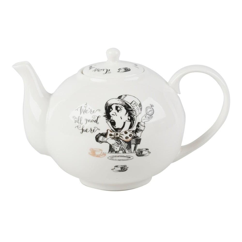 Porcelánová konvice Creative Tops Alice in Wonderland, 1,1 l