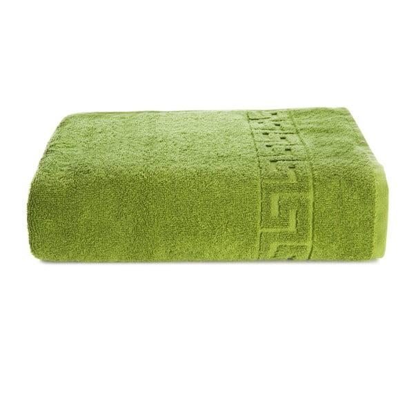 Zielony ręcznik bawełniany Kate Louise Pauline, 30x50 cm