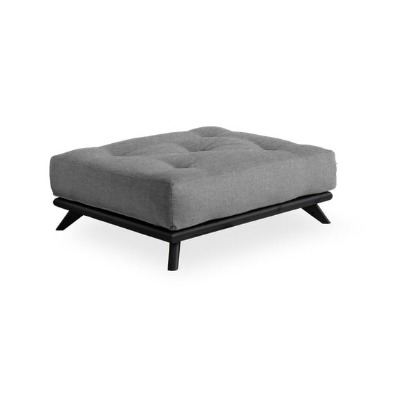 Taburet Karup Design Senza Black/Granite Grey, gri