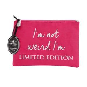 Růžové dámské psaníčko Statement Pieces Limited Edition, 24 x 17 cm