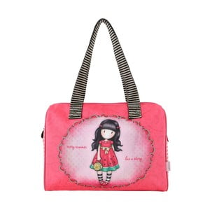 Růžová dětská kabelka do ruky Gorjuss Every Summer