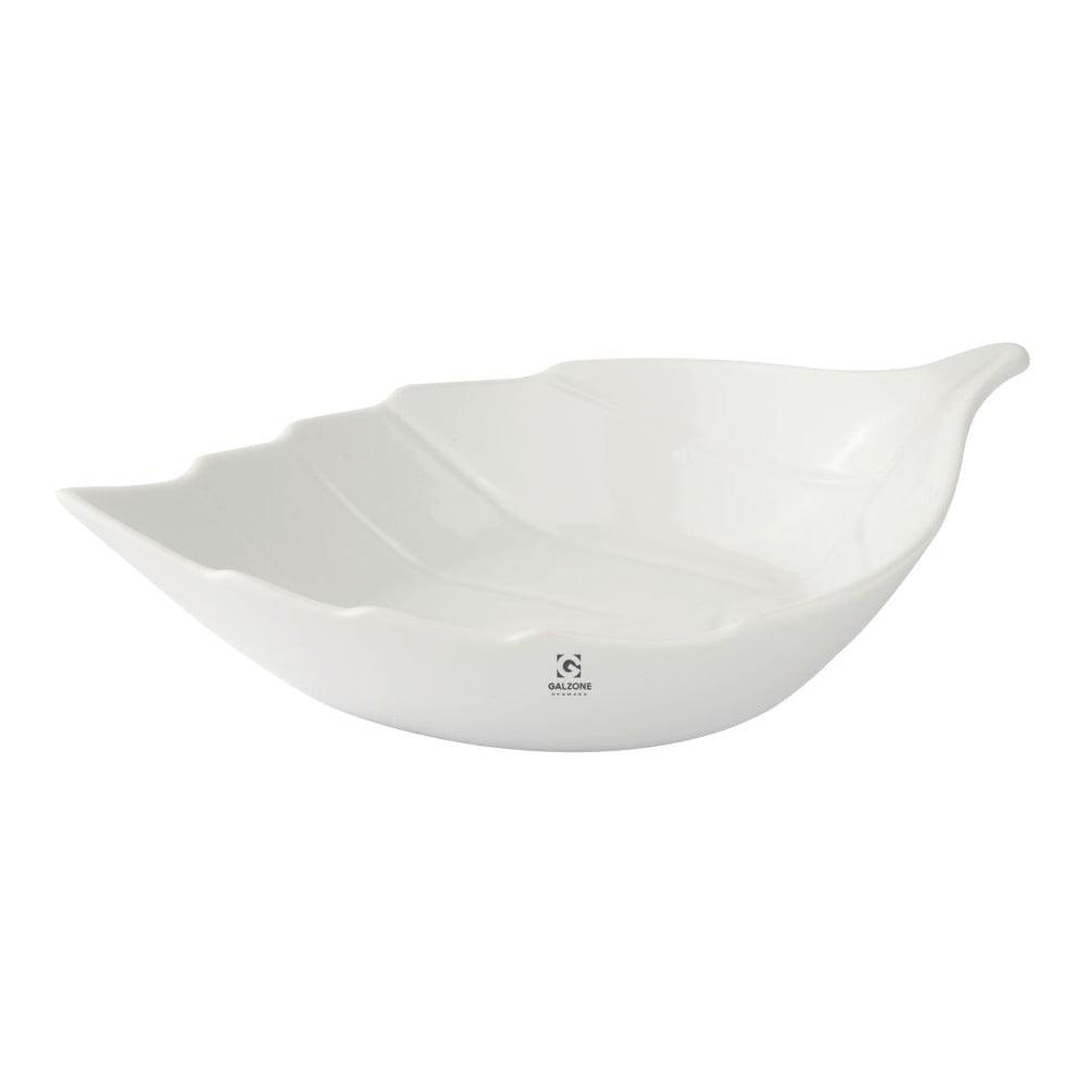 Porcelánová servírovací miska KJ Collection Leaf, 1 l