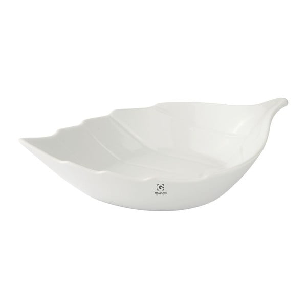 Porcelánová servírovací miska KJ Collection Leaf, 1 l