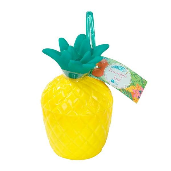 Plastový hrnek Talking Tables Fiesta Pineapple