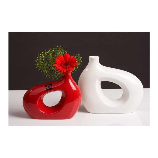 Váza Marna 18 cm, bílá