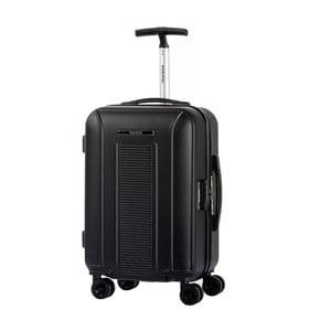 Černé kabinové zavazadlo na kolečkách Murano Spider