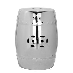 Stříbrný keramický stolek Safavieh Modern Ming