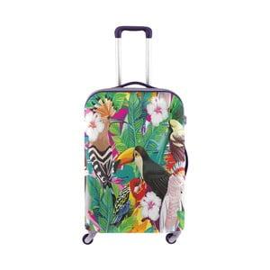 Obal na kufr s tropickým motivem Oyo Concept, 76 x 49 cm