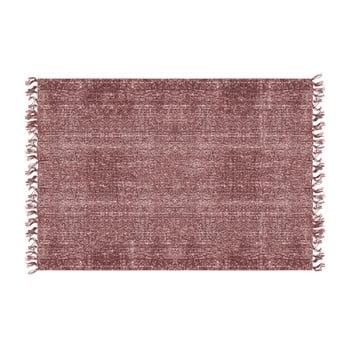 Covor PT LIVING Washed Cotton, 140 x 200 cm, roșu