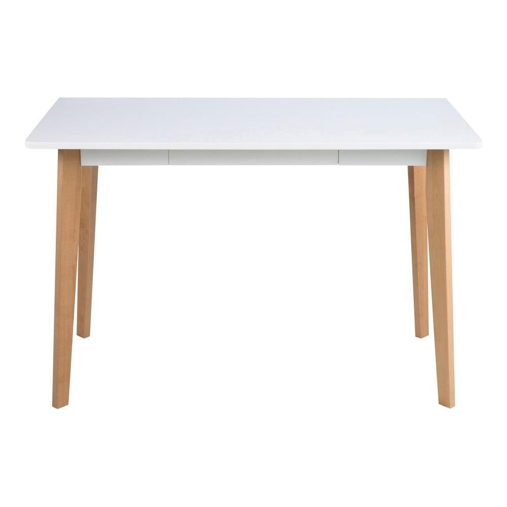 Psací stůl s podnožím ze dřeva břízy Actona Raven Actona