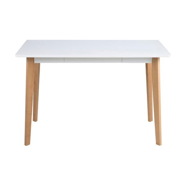 Raven íróasztal nyírfa lábszerkezettel - Actona