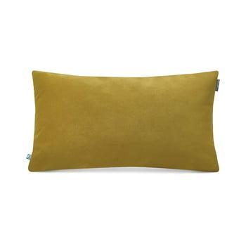 Față de pernă decorativă Mumla Velvet, 30 x 50 cm, galben verde