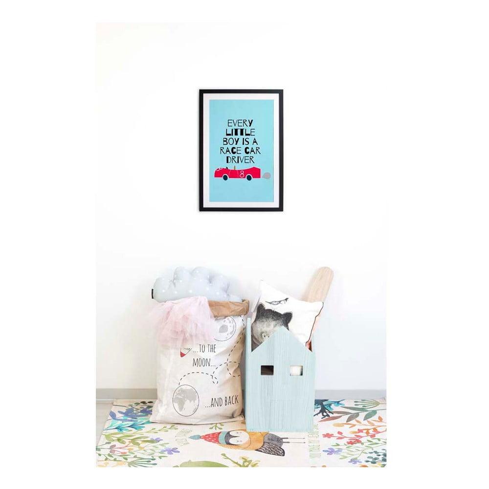 tablou little nice things race car 40 x 60 cm bonami. Black Bedroom Furniture Sets. Home Design Ideas