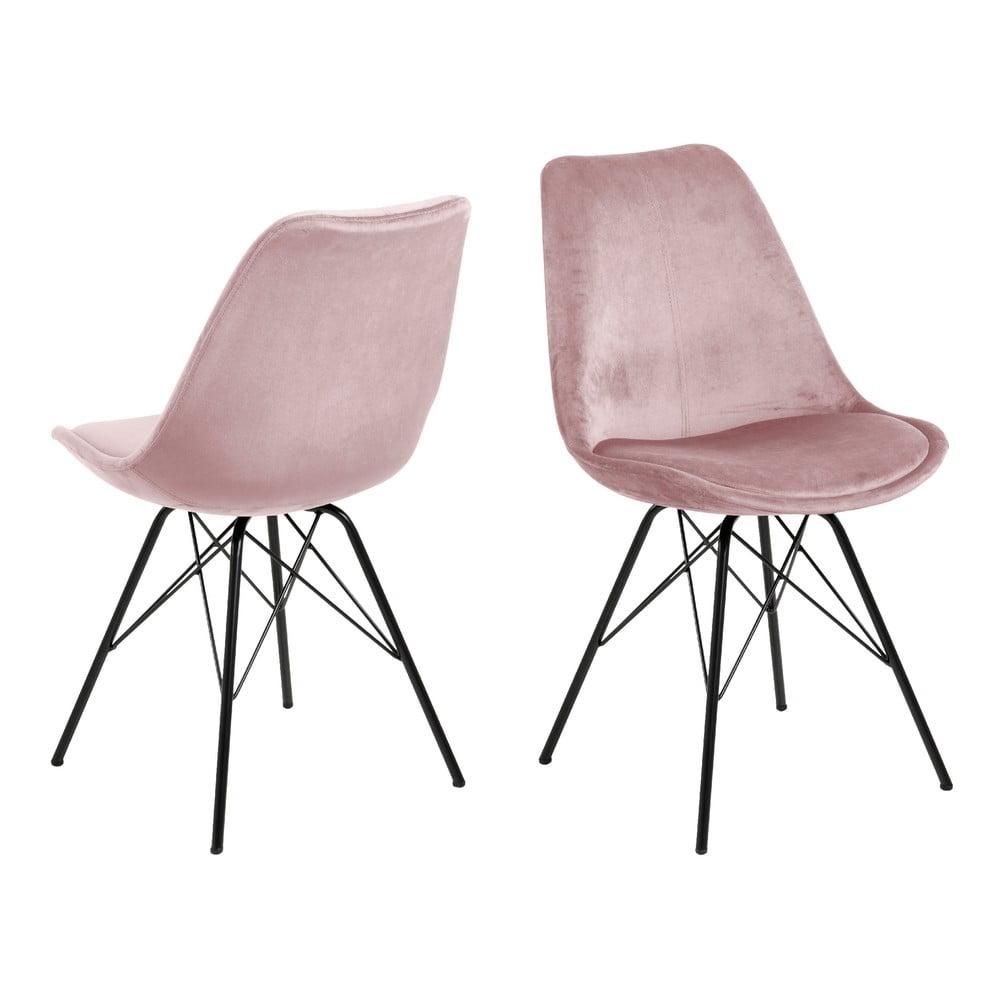 Produktové foto Růžová jídelní židle Actona Eris