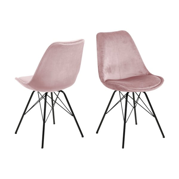 Růžová jídelní židle Actona Eris