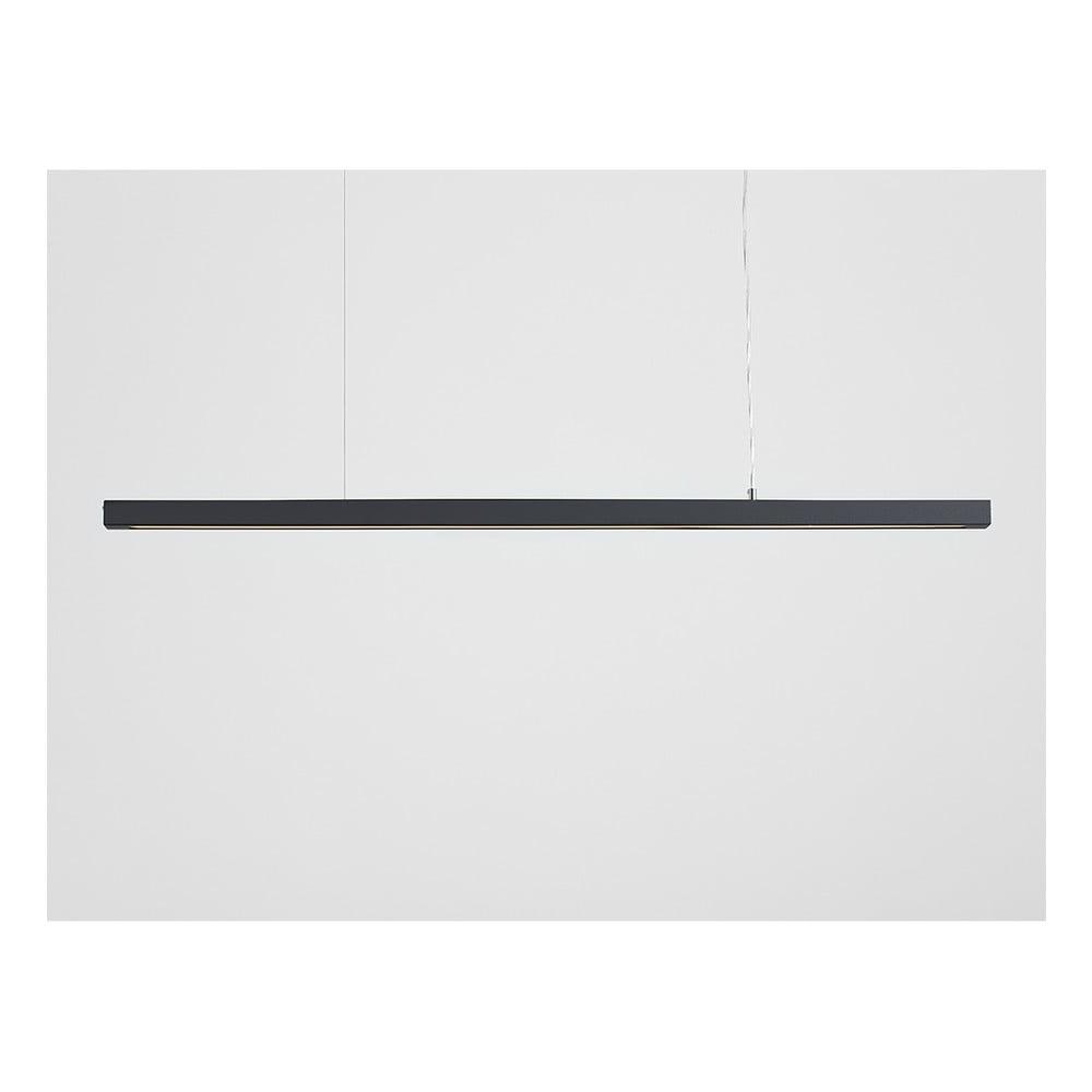Tmavě šedé závěsné svítidlo Custom Form Line Plus XL