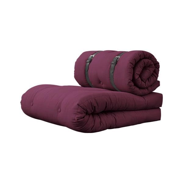 Buckle Up Light Bordeaux variálható fotel, bőrpántokkal - Karup Design